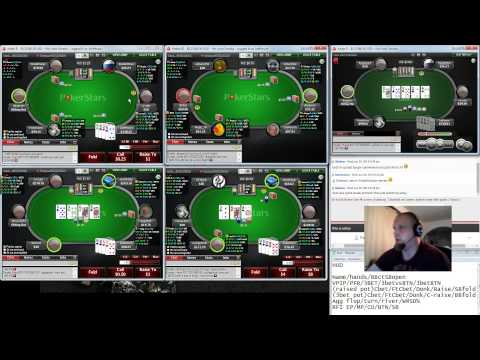 Pot Limit Omaha Coaching with Kyyberi 25.6. 2014 (PLO50 poker strategy)