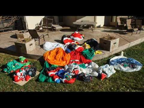 Air Blown Christmas Decorations