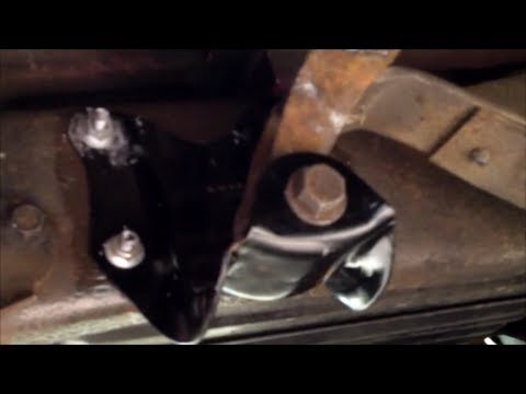 1991 F150 Rear Shackle Frame Mount - YouTube