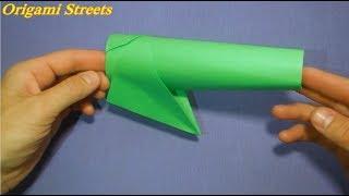 як зробити гармату з паперу своїми руками