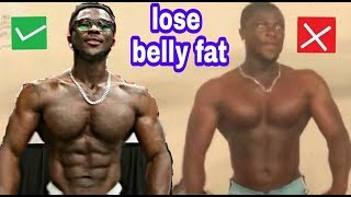 How To Lose Weight And Stubborn Belly Fat - 4 STEPS See Results In 28 Days