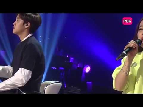 Beak Ji Young with Song Yu Bin -새벽 가로수길 Garosugil At Dawn - MR Removed