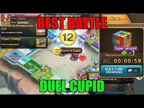 EPIC BATTLE CUPID & OPEN SUPER CUBE | GET RICH