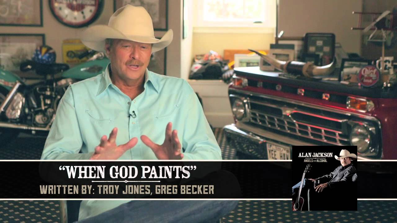 """Alan Jackson - Behind The Song """"When God Paints"""""""