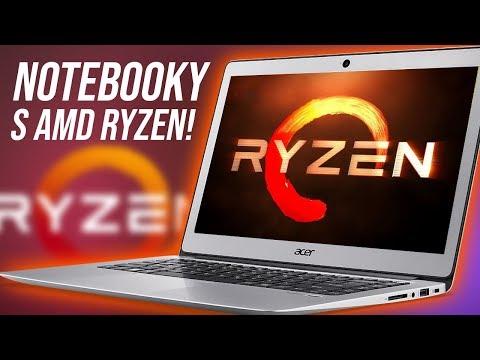 Levné notebooky s procesory AMD Ryzen: Pro koho se hodí? (SROVNÁVACÍ RECENZE #892)