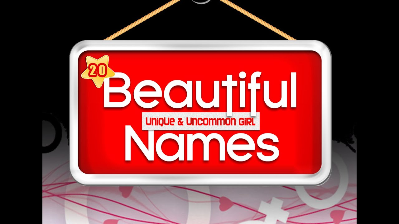 Girl Baby Names Top 20 Most Beautiful Unique Uncommon And O So Cute