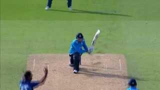 Highlights - England v Sri Lanka, 1st ODI, - England innings
