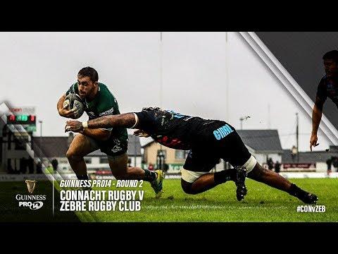 Guinness PRO14 Round 2 Highlights: Connacht v Zebre