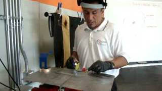 Destructive Test - Plug Type Weld