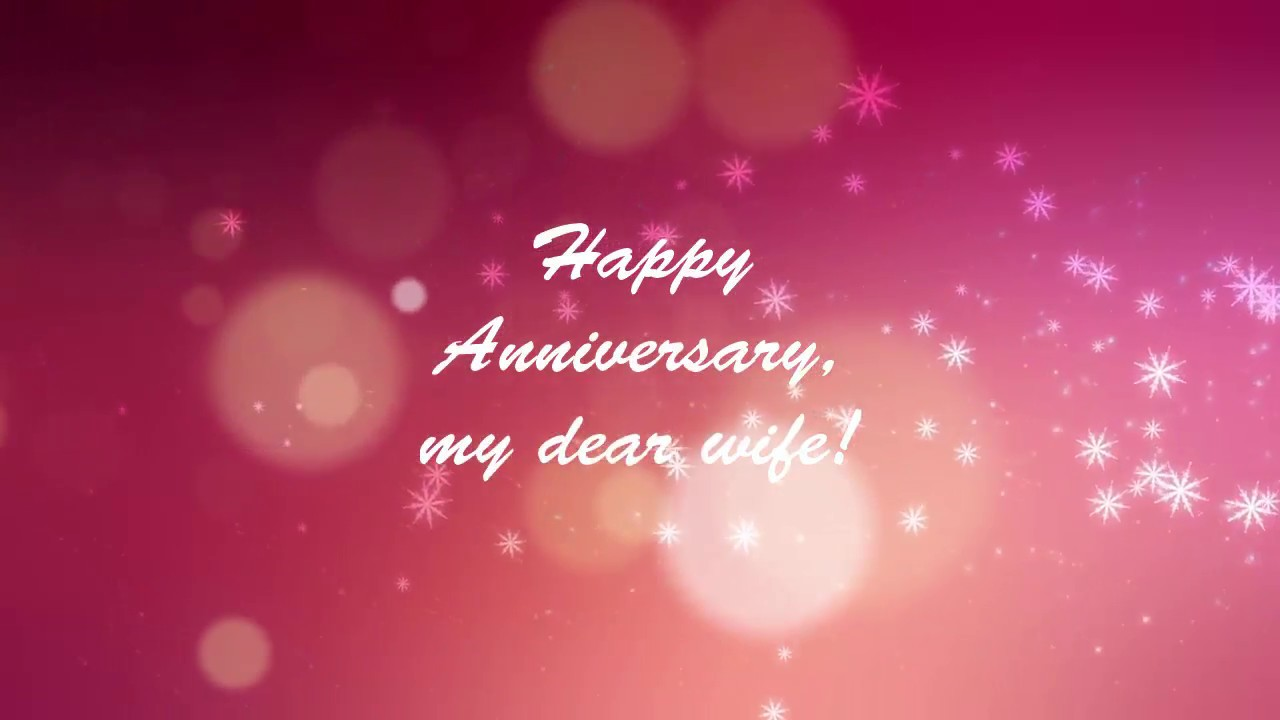 Best romantic anniversary messages for wife youtube