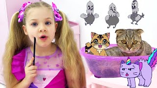 Diana and Roma NEW Adventures in a Magical Cartoon World! Сompilation 3, Funny Cartoons for kids