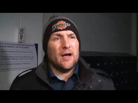 Gary Graham full interview at Komets practice 12/14/16