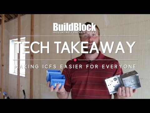Build block insulated concrete forms