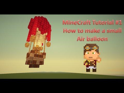 Minecraft yanniickz tutorials 1 how to make a small air for How to make a small air balloon