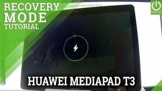 HUAWEI eRECOVERY / Enter eRecovery in HUAWEI MEDIAPAD T3