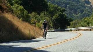 San Francisco Bay Area Cycling - Hicks Road North - Steep Section