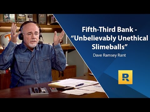 """Fifth Third Bank - """"Unbelievably Unethical SlimeBalls"""" - Dave Rant"""