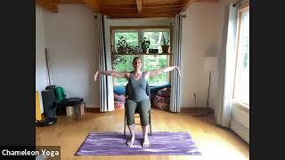 Chair Yoga, July 22nd 2021
