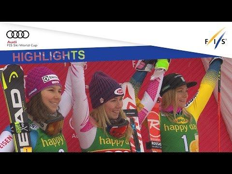 Highlights | Mikaela Shiffrin back to victory in Maribor Slalom | FIS Alpine