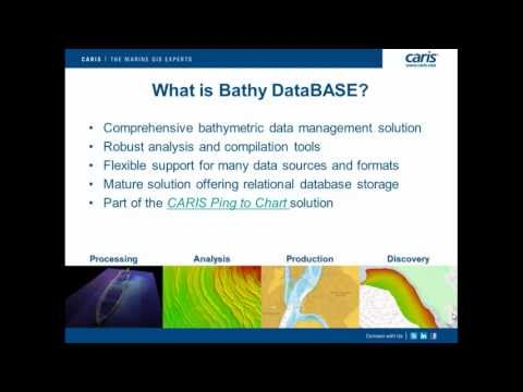 Bathy DataBASE Webinar March 2013