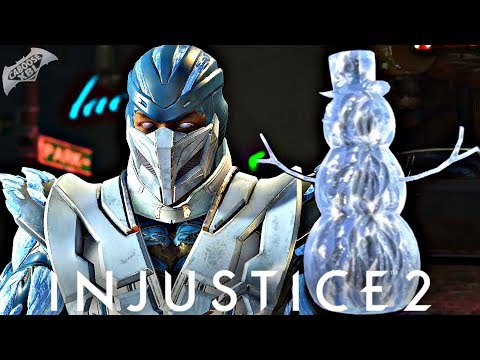Injustice 2 Online - EPIC SNOWMAN ICE CLONE!