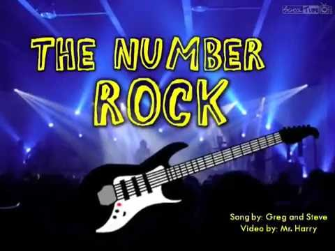 the number rock youtube. Black Bedroom Furniture Sets. Home Design Ideas