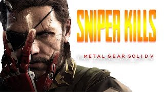 Metal gear solid 5 sniper kills