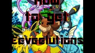How to get Eeveelutions (find Water, Fire, Thunder stones) in Pokemon Black/White 2