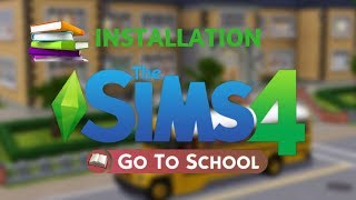 Installation Mod GO TO SCHOOL SIMS 4 sur Mac