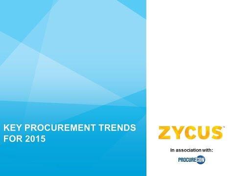 Key Procurement Trends for 2015