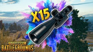 x15 Scope POWER..!! | Best PUBG Moments and Funny Highlights - Ep.69