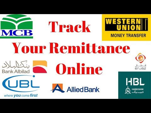How To Track Remittance Online With Enjaz Bank 2019 | Remittance