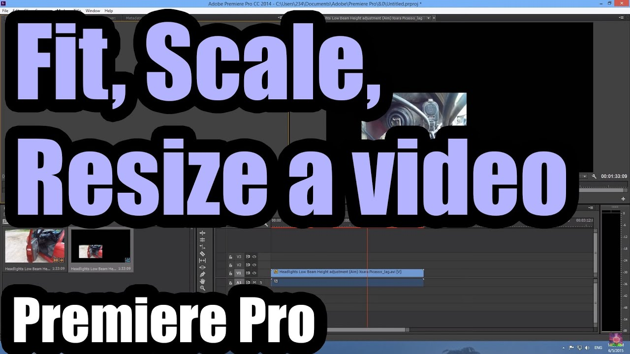 How to edit videos on adobe premiere pro cc