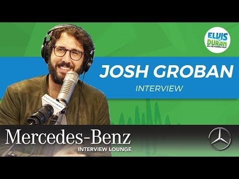 Josh Groban on His New Album and Netflix Show | Elvis Duran Show