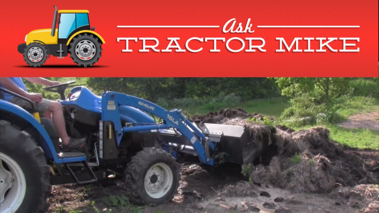 Moving a Manure Pile with a Front End Loader (5 tips for new operators)