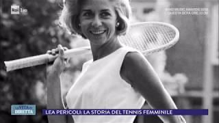 Lea Pericoli: la tennista che inventò il pizzo sotto il gonnellino - La vita in diretta 05/06/2018