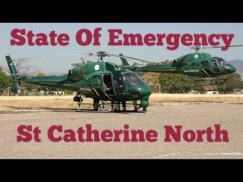 Jamaica news : State of Emergency St Catherine, Jamaica March 2018