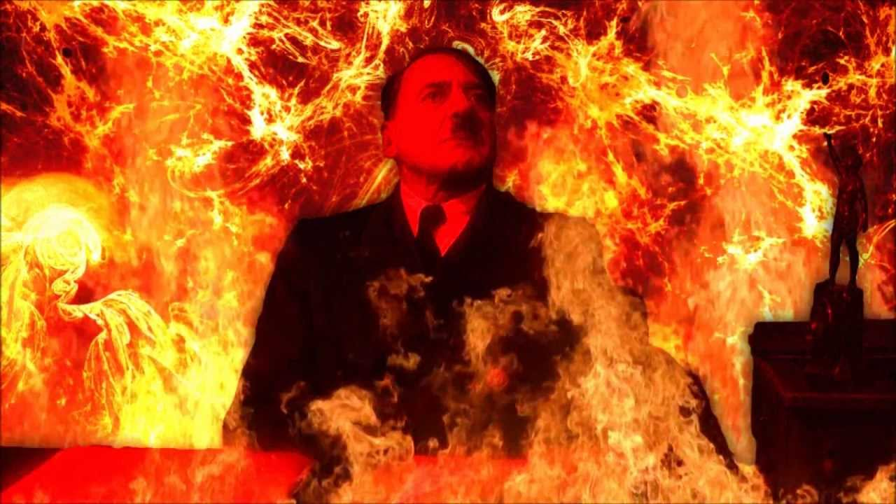 Hitler is informed he's in hell