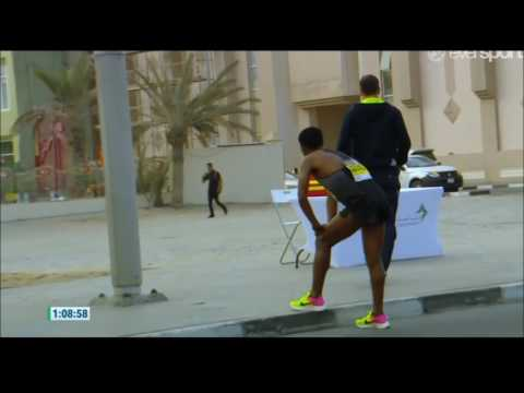 Kenenisa Bekele abandonó el maratón de Dubai 2017