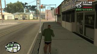 Коды на GTA San Andreas У всех есть оружие FOOOXFT