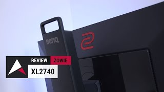 "Zowie XL2740 Review (27"" 1080p 240Hz TN Gaming Monitor)"