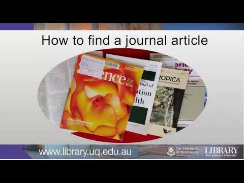 Find a journal article for chemistry