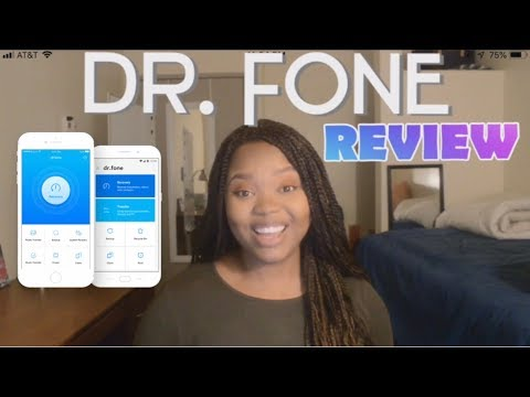 WonderShare Dr. Fone App REVIEW!!!