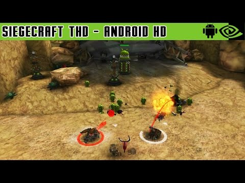Siegecraft THD - Gameplay Nvidia Shield Tablet Android 1080p (Android Games HD)