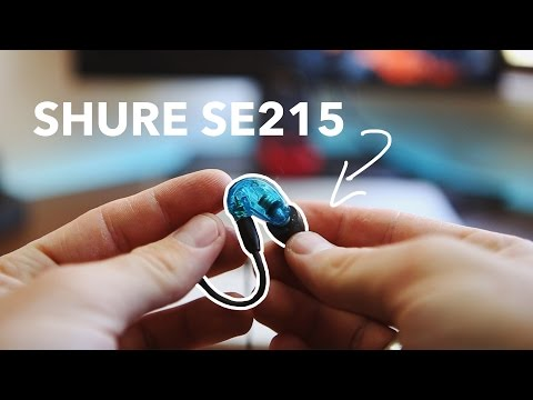Best Headphones For Video Editing! Shure SE215 review
