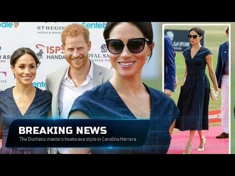 Meghan Markle fashion | The Duchess masters heatwave style in Carolina Herrera