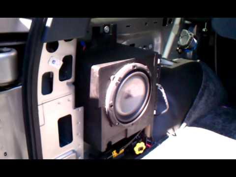 Custom Factory Stealthbox Tahoe W1 Youtube