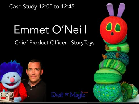 Making My Very Hungry Caterpillar, A Case Study by Emmet O'Neill of StoryToys