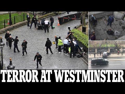 BREAKING London's Police on UK Bridge & Parliament ISLAMIC terrorist attack update March 22 2017
