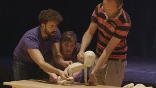 Blind Summit teaches puppetry at Stanford